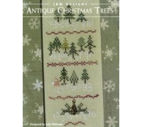 Antique Christmas Trees Chart - 05-2558