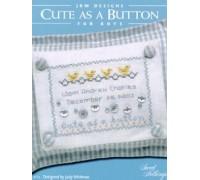 Cute As A Button Chart - Boy - 04-1210