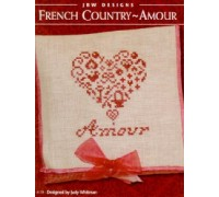 French Country Amour Chart - 08-1364