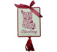 French Country Petite Stocking Chart - 07-2597
