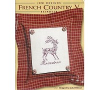 French Country V - Reindeer Chart - 06-2692