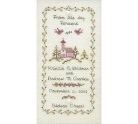 Marriage Sampler Chart - 03-1154
