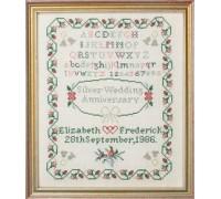 Wedding Anniversary Sampler by Jane Greenoff