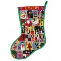 Christmas Alphabet Stocking - CA3120