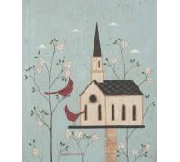 Church Birdhouse- Warren Kimble- KIM007