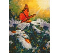 Butterfly Daisies Chart - 07-1600 - Chart Only