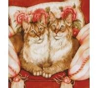 Feline Sisters Chart or Kit