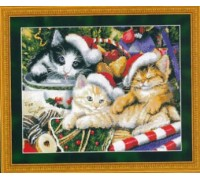 Meowy Christmas Chart - 09-1426 - Chart Only