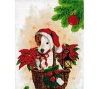 Puppy Santa Chart or Kit