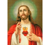 Sacred Heart of Jesus Chart or Kit