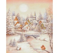 Snow Village Chart - 09-2390