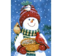 Snowman Friends Chart or Kit