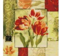 Tulips Medley Chart - 07-1003 - Chart Only