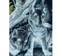 Wolf Pups Chart or Kit