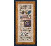 Amish Quilt Sampler Chart - 98-1738