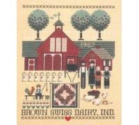 Brown Swiss Dairy Chart - 3931
