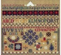 Winter Sampler Chart - 02-1399