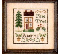 Acorns and Pines Chart - 06-1703
