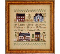 Colonial Homes Chart - 06-1080