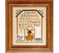 Dog House Sampler Chart - 05-2918