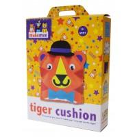 Makemee Carnival Tiger Cushion