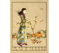 Autumn In My Garden Chart or Kit