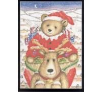 Christmas Bear Chart - 08-2048