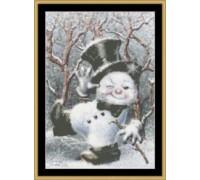 Dancing Snowman Chart - 05-3240