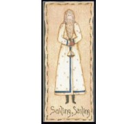 Folk Santa Collection - August Chart - 08-2053