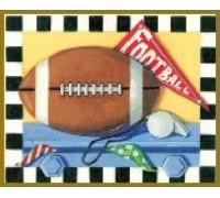 Football Chart - 07-2339