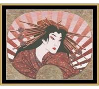 Japanese Fan Chart - 07-2690