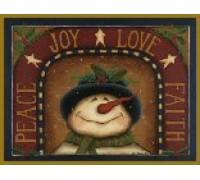 Joy Love Faith Chart - 06-2934