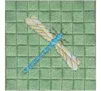 Dragonfly Canvas Embroidery - cc-sc-dgn