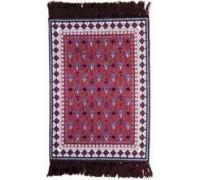 Oriental Red Carpet Canvas Work