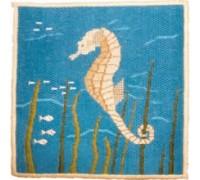 Seahorse Canvas Work