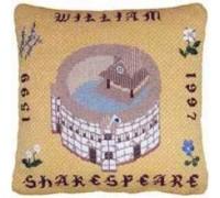 Shakespeares Globe Canvas Embroidery - cc-sglb