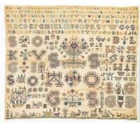 1761 Reproduction Sampler - 39-5490 - 35ct