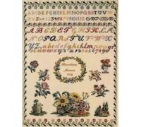 1819 Karoline Marca Reproduction Sampler - 39-1313 - 32ct