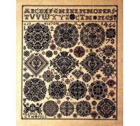 1826 Celle Museum Sampler - 39-4410 - 32ct