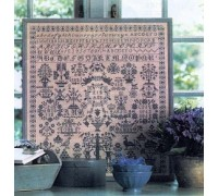 1852 Reproduction Sampler - HH21168 - 28ct