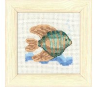 Angel Fish Seaside Mini - 14-6190 - 14ct