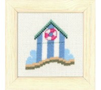 Beach Hut Seaside Mini - 14-6185 - 14ct