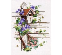 Bird House and Bees - 70-3120 - 14ct
