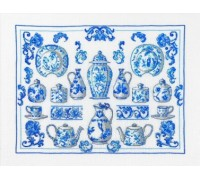 Blue and White China Sampler - 70-5132 - 30ct