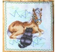 Cat and Pony - 12-6109 - 8ct
