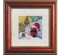 Christmas Mini Santa and Pony - 14-1222