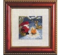 Christmas Mini Santa with Reindeer - 14-1225