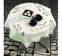Coffee Celebration Tablecloth - 27-6609