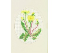 Dandelion Greetings Card - 17-5109 - 18ct