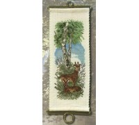 Deer in the Forest Bellpull - 36-5535 - 19ct